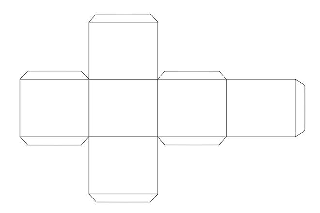 Шестиграниий кубик своїми руками